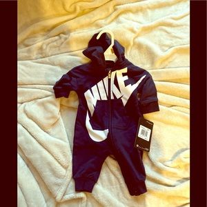 Newborn Nike onesie